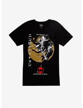 Dc Comics Batman Ninja Circle T Shirt Hot Topic Exclusive by Hot Topic