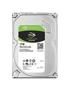 Seagate   Barra Cuda 1 Tb 3.5 Inch  Sata Iii 6 Gb/S Internal Hard Drive  (St1000 Dm010) by Amazon