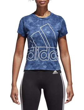 Originals Id Logo Slim Tee by Adidas