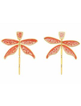 Dragonfly Earrings by Tory Burch