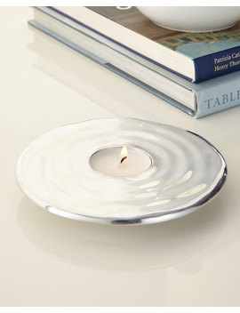 Ripple Effect Tea Light Holder by Michael Aram