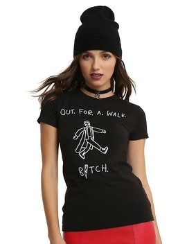 Buffy The Vampire Slayer Out For A Walk Girls T Shirt by Hot Topic