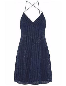 Beaded Silk Chiffon Mini Dress by Alice+Olivia