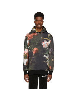 Multicolor Macro Flower Hoodie by Palm Angels