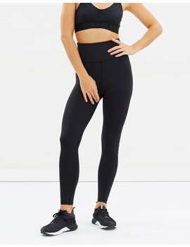 Exceeder High Waist Compression Tights by Core Trainer