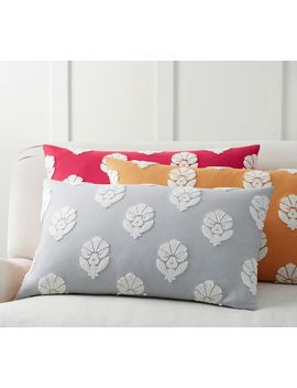 Yara Embroidered Pillow Cover by Pottery Barn