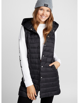 Long Quilted Vest by Twik Twik Nike Adidas Originals