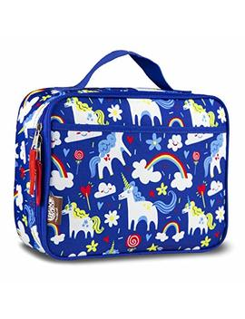 Lonecone Kids' Insulated Fabric Lunchbox   Cute Patterns For Boys And Girls, Gary The Unicorn by Lonecone