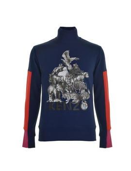 Animals Sweatshirt by Kenzo