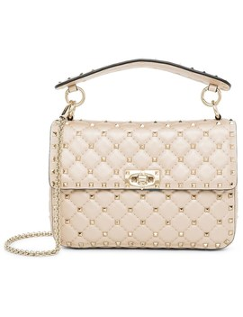 Spike Medium Shoulder Bag by Valentino