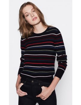 Shirley Stripe Cashmere Sweater by Equipment