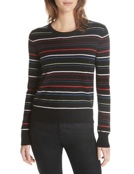 Shirley Stripe Sweater by Equipment