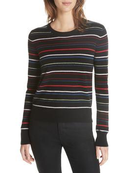 Shirley Stripe Sweater by Equipment