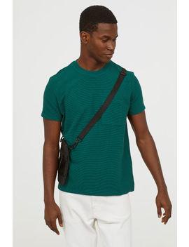 Jacquardgebreid T Shirt by H&M