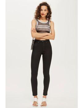 black-coated-jamie-jeans by topshop