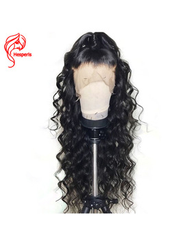Hesperis Glueless Full Lace Human Hair Wigs For Black Women Brazilian Remy Full Lace Wigs Pre Plucked With Baby Hair 150 Density by Hesperis