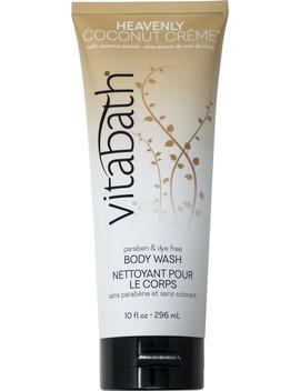Heavenly Coconut Crème Body Wash by Vitabath