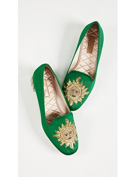 Embellished Slippers by Aquazzura