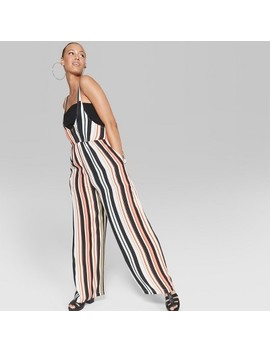Women's Striped Sleeveless Woven Jumpsuit   Wild Fable™ by Shop All Wild Fable™