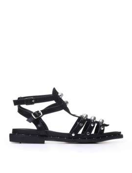 Bagh Studded Sandals by Koi Footwear