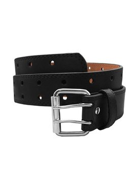 Euro Womens Thick Wide 2 Hole Leather Belt   Fashion Double Row S by Eurosport
