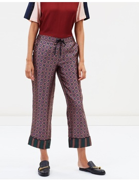 Wide Pyjama Pants by Maison Scotch