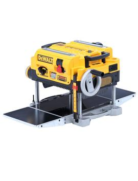 15 Amp 13 In. Heavy Duty 2 Speed Thickness Planer With Knives And Tables by Dewalt
