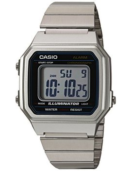 Casio Men's 'classic' Quartz Metal And Stainless Steel Casual Watch, Color:Silver Toned (Model: B650 Wd 1 Acf) by Casio