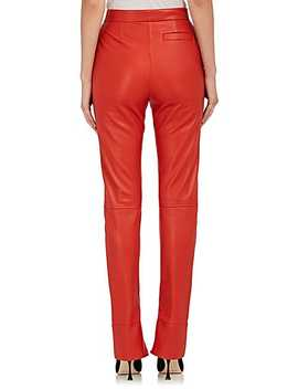 Leather Slim Pants by J.W.Anderson