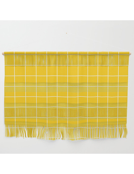 Sunshine Grid Wall Hanging by