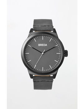 Charcoal Rand Watch by Breda Watches