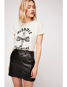 2020 Leather Mini Skirt by Free People
