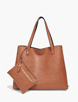 Reversible Vegan Leather Tote by Lucky Brand