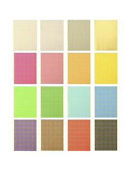 Outus Color Coding Labels Dot Stickers Round Circle Stickers, 16 Sheets, 6528 Pieces In Total by Outus