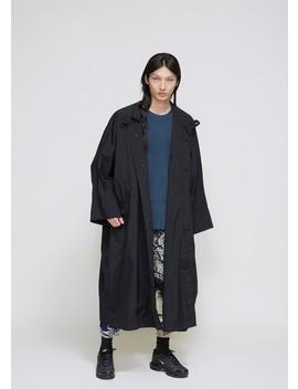 Wind Taffeta Coat by Issey Miyake
