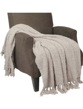 Charlton Home Critchfield Fluffy Throw Blanket & Reviews by Charlton Home