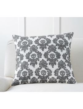 Mini Skull Applique Pillow Cover by Pottery Barn