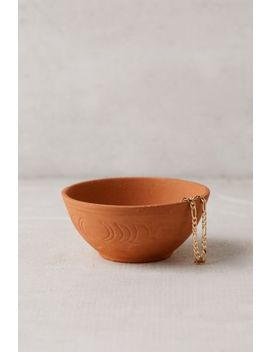 Cosmic Terracotta Catch All Dish by Urban Outfitters