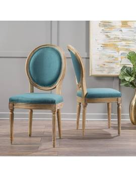 Phinnaeus Fabric Dining Chair By Christopher Knight Home (Set Of 2) by Christopher Knight Home