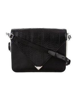 Alexander Wang Large Embossed Leather Prisma Envelope Bag by Alexander Wang