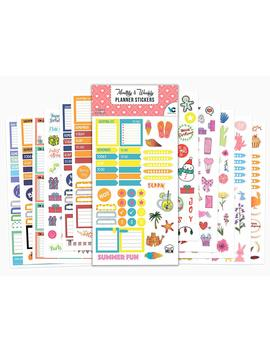 Planner Stickers   12 Sheets / 632 Stickers Value Pack   Seasonal Stickers For Daily, Weekly & Monthly Planners   By Vladi Creative by Vladi Creative