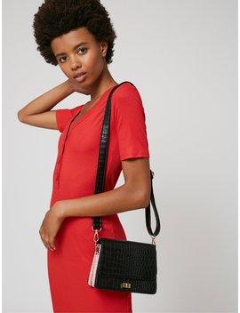 Mini Rory Black Cross Body Bag by Skinnydip