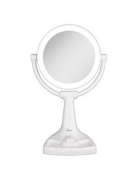 Zadro Fluorescent Surround Light™ Max Bright Vanity Mirror 10 X/1 X by Shop All Zadro