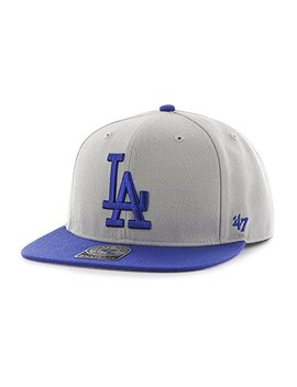 47 Brand Los Angeles Dodgers Two Toned Sure Shot Mens Snapback Hat B Srstt12 Wbp Gy by 2747