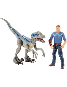 "Jurassic World Story Pack Velociraptor ""Blue"" & Owen by Jurassic World"