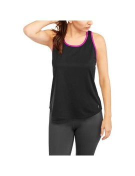 Danskin Now Women's Mesh Tank With Contrast Trim by Danskin Now