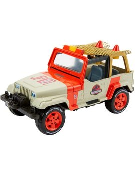 Matchbox Jurassic World Jeep Wrangler + Rescue Net by Jurassic World