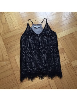 Loft Stained Glass Lace Sleeveless Top by Loft