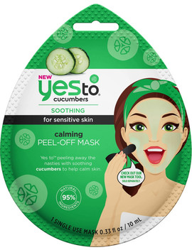 Cucumbers Calming Peel Off Mask by Yes To