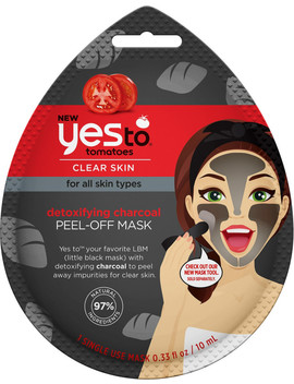 Detoxifying Charcoal Peel Off Mask by Yes To